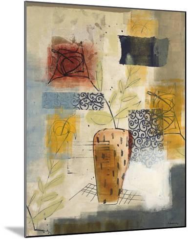 Flora II-David Dauncey-Mounted Premium Giclee Print