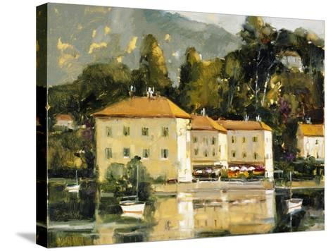 Grand Hotel, Lake Como-Ted Goerschner-Stretched Canvas Print