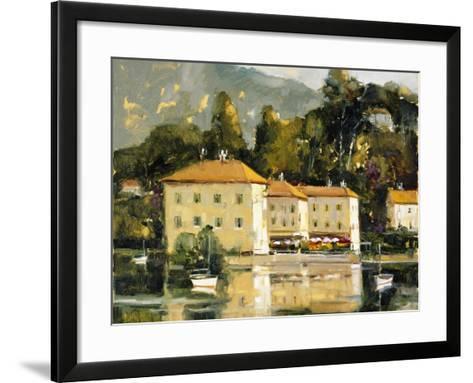 Grand Hotel, Lake Como-Ted Goerschner-Framed Art Print