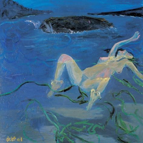 Sea of Lust-Zhang Yong Xu-Stretched Canvas Print