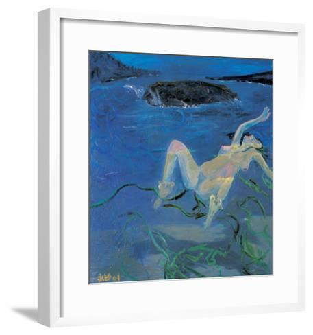 Sea of Lust-Zhang Yong Xu-Framed Art Print