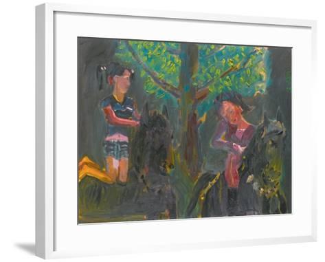 Beautiful Sister Flower-Zhang Yong Xu-Framed Art Print