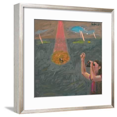 Finding the Prince in the Sky-Zhang Yong Xu-Framed Art Print