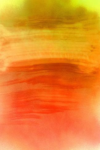 NIRVANA?The Eastern Sky Burns-Masaho Miyashima-Stretched Canvas Print