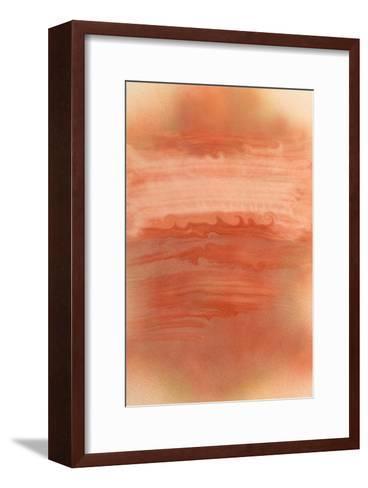 NIRVANA?The World Where Brown Mirage is Tossed-Masaho Miyashima-Framed Art Print