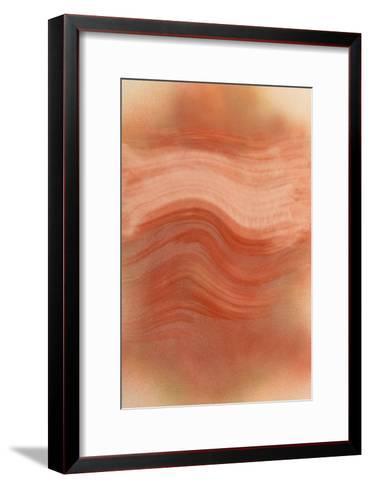 NIRVANA?To the Way of a Gradual Wave-Masaho Miyashima-Framed Art Print
