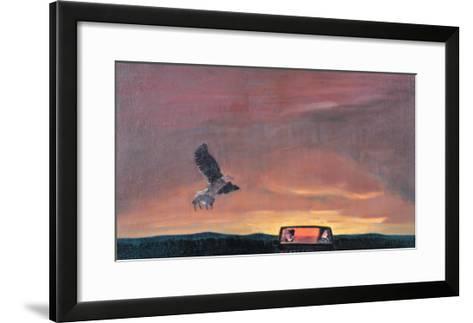 Road to Home-Zhang Yong Xu-Framed Art Print