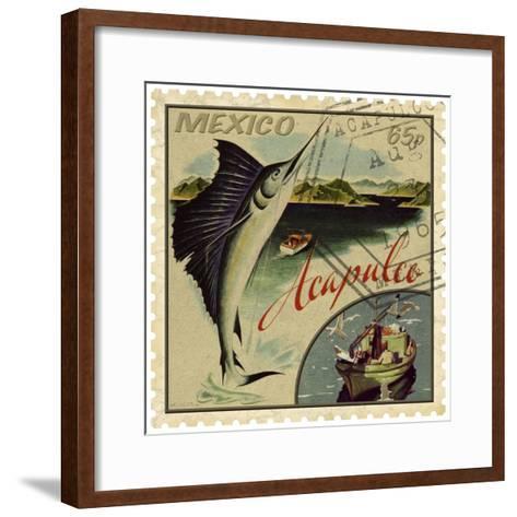 Acapulco-Kate Ward Thacker-Framed Art Print