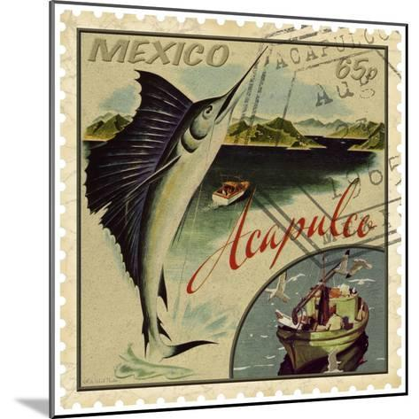 Acapulco-Kate Ward Thacker-Mounted Giclee Print