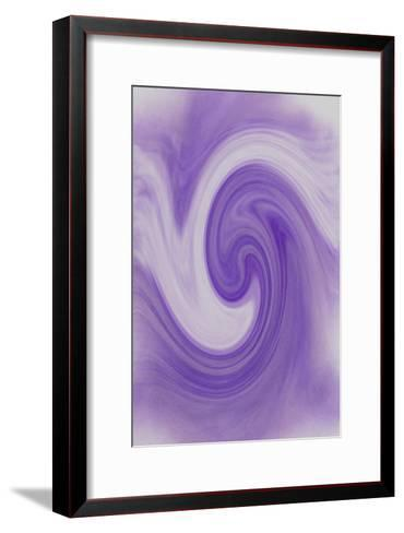 NIRVANA?The Purple Scenery is Wrapped in the Smell of the Column-Masaho Miyashima-Framed Art Print