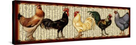 Fowl Parade-Kate Ward Thacker-Stretched Canvas Print