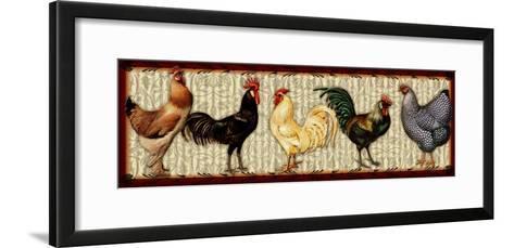 Fowl Parade-Kate Ward Thacker-Framed Art Print