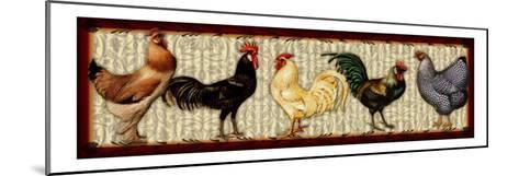 Fowl Parade-Kate Ward Thacker-Mounted Giclee Print