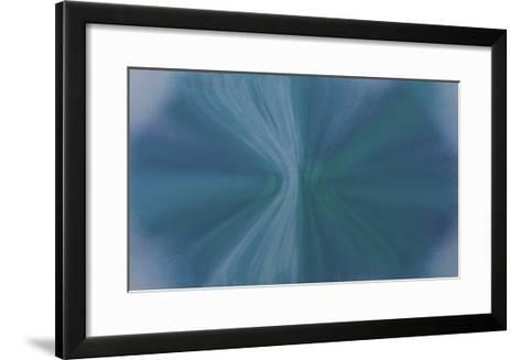 NIRVANA?Everything Becomes a Blue Crystal-Masaho Miyashima-Framed Art Print