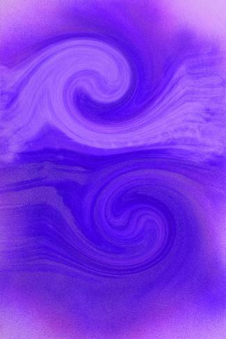 NIRVANA?Wave that Michael Gripped-Masaho Miyashima-Stretched Canvas Print