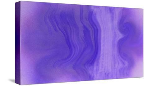 NIRVANA?Purple Wave-Masaho Miyashima-Stretched Canvas Print