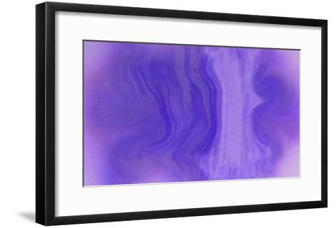 NIRVANA?Purple Wave-Masaho Miyashima-Framed Art Print