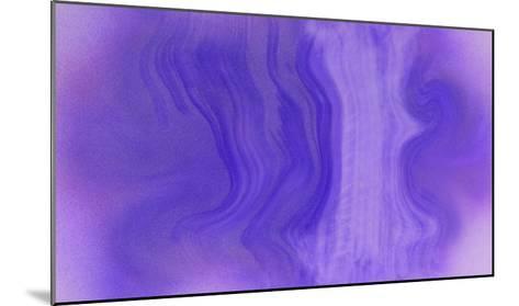 NIRVANA?Purple Wave-Masaho Miyashima-Mounted Giclee Print