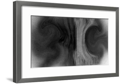 NIRVANA?Waterfall that Falls at the Top and Bottom-Masaho Miyashima-Framed Art Print