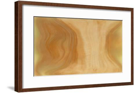 NIRVANA?In the Zen, the Color is to Live-Masaho Miyashima-Framed Art Print