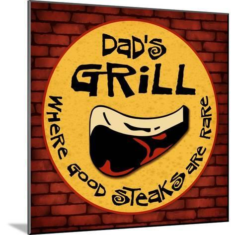 Dad's Grill-Kate Ward Thacker-Mounted Giclee Print