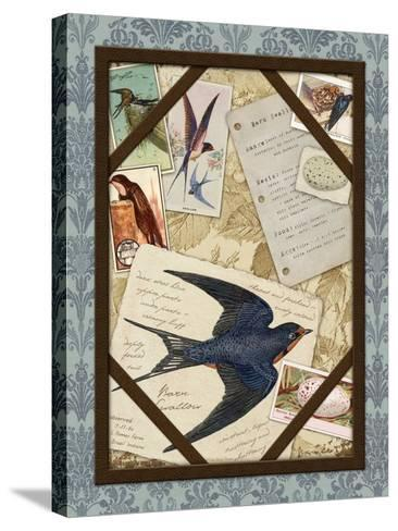 Barn Swallow-Kate Ward Thacker-Stretched Canvas Print