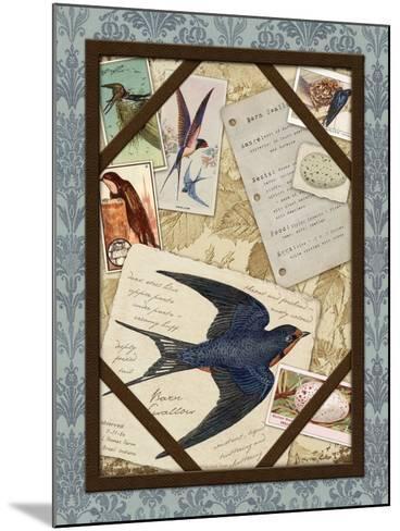 Barn Swallow-Kate Ward Thacker-Mounted Giclee Print