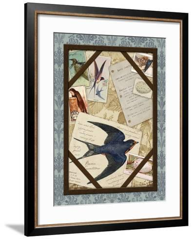 Barn Swallow-Kate Ward Thacker-Framed Art Print