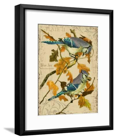 Blue Jay-Kate Ward Thacker-Framed Art Print