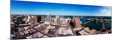 360 Degree View of a City, Austin, Travis County, Texas, USA--Mounted Photographic Print