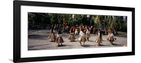 48th Annual Hawaiian Cultural Festival, Pu'uhonua O Honaunau National Historical Park, Hawaii--Framed Art Print