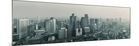 Buildings in a City, Osaka, Osaka Prefecture, Kansai Region, Japan--Mounted Photographic Print