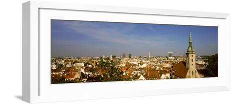 Cathedral in a City, St. Martin's Cathedral, Bratislava, Slovakia--Framed Art Print