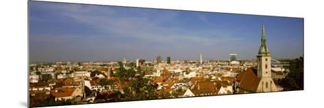 Cathedral in a City, St. Martin's Cathedral, Bratislava, Slovakia--Mounted Photographic Print