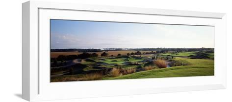 Golf Course, Cassique Golf Course, Johns Island, South Carolina, USA--Framed Art Print