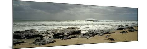 Rock Formations on the Beach, Jeffreys Bay, Eastern Cape, South Africa--Mounted Photographic Print