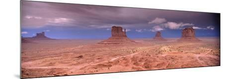 Thunderstorm over a Landscape, Monument Valley, San Juan County, Utah, USA--Mounted Photographic Print