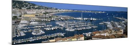View of a Harbor, Cannes, Provence-Alpes-Cote D'Azur, France--Mounted Photographic Print