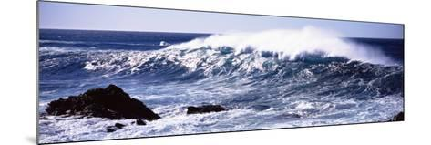 Waves in the Sea, Big Sur, California, USA--Mounted Photographic Print