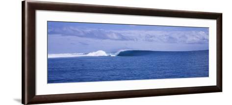 Waves in the Sea, Indonesia--Framed Art Print