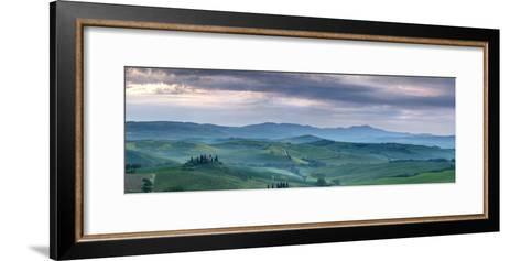 Belvedere at Dawn, Valle De Orcia, Tuscany, Italy-Nadia Isakova-Framed Art Print