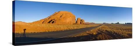 Arizona-Utah, Monument Valley, USA-Alan Copson-Stretched Canvas Print