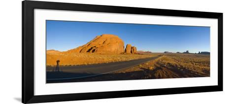 Arizona-Utah, Monument Valley, USA-Alan Copson-Framed Art Print