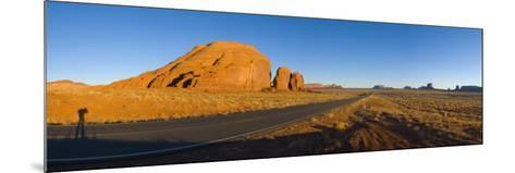 Arizona-Utah, Monument Valley, USA-Alan Copson-Mounted Photographic Print