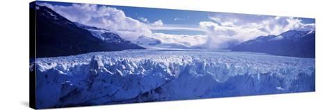 Perito Morento Glacier, Patagonia, Argentina-Peter Adams-Stretched Canvas Print
