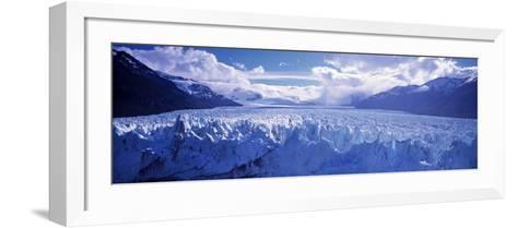 Perito Morento Glacier, Patagonia, Argentina-Peter Adams-Framed Art Print
