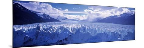 Perito Morento Glacier, Patagonia, Argentina-Peter Adams-Mounted Photographic Print