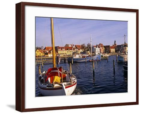 Harbour and Town of Faaborg, Denmark-Paul Harris-Framed Art Print