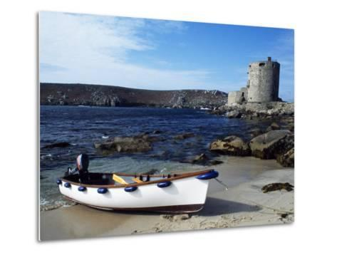 View of Cromwell's Castle, Which Guards the Northern Approaches to New Grimsby Harbour-Fergus Kennedy-Metal Print