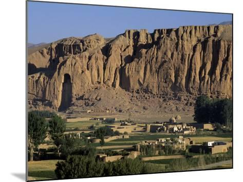 Bamiyan Valley, Showing the Large Buddha, Circa 5th Century, Afghanistan-Antonia Tozer-Mounted Photographic Print